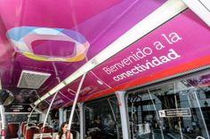 Campaña de la app de Realidad Aumentada para el interior de Metro y Autobús de Barcelona y Madrid utilizando la app Holaapp, permitiendo la interacción con las publicidades, accediendo a contenidos espectaculares.
