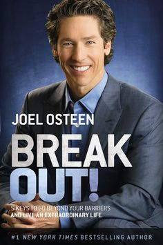 Joel Osteen explains the mysteries of unexpected blessings in 'Break Out!'
