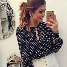 Cheap blouses india, Buy Quality shirt tattoo directly from China blouse striped Suppliers: 2016 Summer Women Casual Chiffon Print Blouses Plus Size Shirts Fashion Cropped Office Tops Camisas Blusas Roupas Femininas Casual Tops For Women, Blouses For Women, Cheap Blouses, Ladies Tops, Women's Casual, Casual Shirts, Casual Party, Blouse En Jean, Plus Size Women's Tops