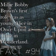Millie Bobby Brown, stranger things facts