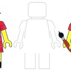Lego Self Portrait - when on the website, type lego into the search box and the template will come up.