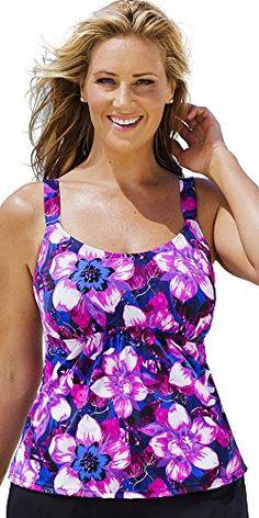 Beach Belle Women's Plus Size Exotic…
