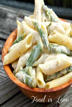 Food is Love: Spring Sneak Peek: Asparagus Pasta Salad