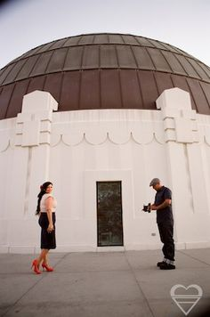 Griffith Observatory, Los Angeles! Contact me to get more info about shooting an engagement shoot here! http://baplove.com/contact