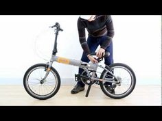 MOBIC Folding Bike Folds in 10 Seconds - Click-n-Lock Technology on Fusion X9 (HD). Available at www.MobicBikes.com