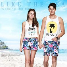 Tropical Paradise - Men Trunks  Capture the essence of the islands with our Tropical Paradise Men Trunks. With a colourful tropical print, these classic swim trunks are essential for every escapist!  www.therealnomad.com