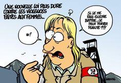 Marine Le Pen Babouse
