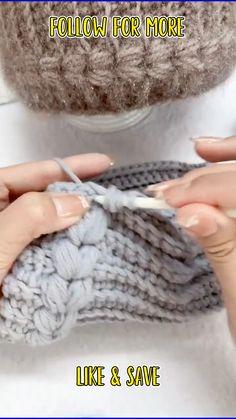Crochet Box Stitch, Crochet Hood, Easy Crochet Stitches, Crochet Stitches For Beginners, Crochet Videos, Crochet Basics, Knit Or Crochet, Crochet Crafts, Crochet Projects
