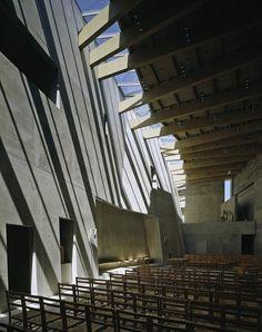 Double Church For Two Faiths, by Kister Scheithauer Gross Architects / Freiburg im Breisgau, Germany
