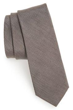 Plaid Woven Tie