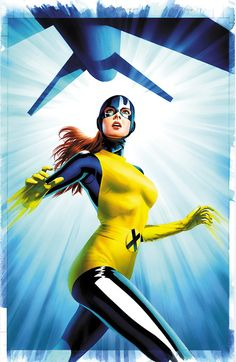 Marvel Girl by Mike Mayhew