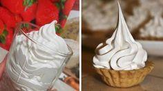 Najlepší recept na bielkový krém s úplne famóznou chuťou! Frosting, Icing, Food Decoration, Something Sweet, Carrot Cake, Love Food, Creme, Deserts, Food And Drink
