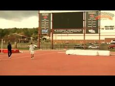 Arkansas Track and Field Presents Common Errors and Corrections High Jump - YouTube