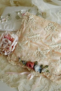 Crafts ❀⊱Embroidery, Ribbon Art & Yarn⊰❀Jennelise: Lace Treasures