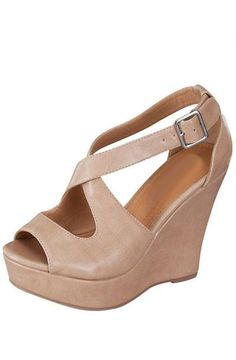 Nude Wedges $34.50
