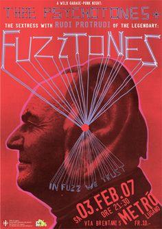 GigPosters.com - Thee Psychotones - Fuzztones, The