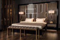 Contemporary bedroom inspiration Luxury Furniture Stores, Furniture Sets, Furniture Design, Interior Design Inspiration, Bedroom Inspiration, Bedroom Ideas, Japanese Interior, Classic Furniture, Contemporary Bedroom