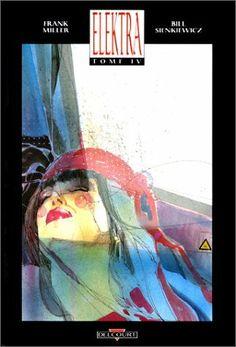 Elektra de Miller et Sienkiewicz,  Attention, lecteur, cet album tranche et coupe à chaque page. La vengeance trouve ici son expression ultime dans la silhouette galbée d'une déesse de sabres et de satin...