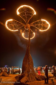 One of my favorites. Night in the desert, Burning Man, 2010