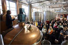 Sam Adams Brewery tours