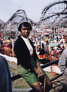 Brassai (1899-1984) - 1957 Coney Island, New York, via Flickr.