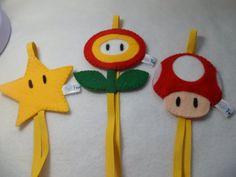 Fofurices - kit Marcadores Mario Bross