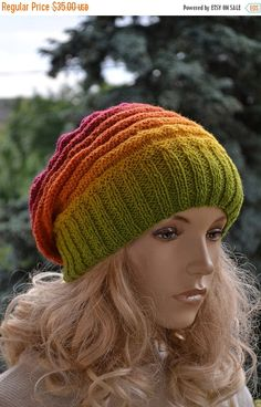 SALE 5% OFF Unique gift for Her Knitted multicolor by DosiakStyle