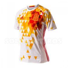 Camiseta 2ª equipacion España Eurocopa 2016