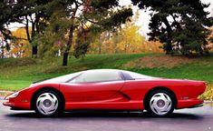 Chevrolet Corvette Indy Concept '86