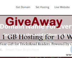 Giveaway: A FREE 1GB Hosting for 10 Winners; Last day to participate. Rush now !!