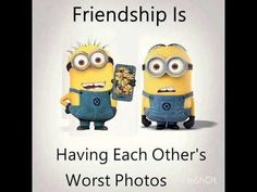 Funny Minion Pictures, Funny Minion Memes, Funny School Jokes, Crazy Funny Memes, Really Funny Memes, Funny Jokes, Minion Humor, Cute Minions, Best Friend Quotes Funny