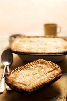 Pie (pastel) clásico de carne picada y cebolla · jamie oliver