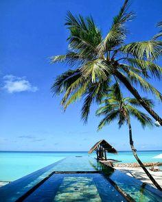 Beautiful beach resort in Maldives - One&Only Reethi Rah, Maldives