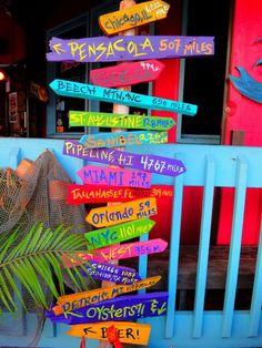 Colourful-Beach-Signs.jpg 1 000 × 1 333 pixels