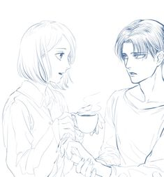 Levi And Petra, Iphone Wallpaper Glitter, Eren And Mikasa, Attack On Titan Funny, Picture Logo, Anime People, Levi Ackerman, Aesthetic Anime, Character Art