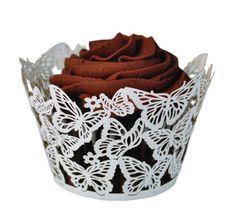 Cupcake Wrappers : Cupcake Wrapper - Borboleta (10 und)