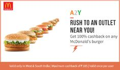 McDonald's food is made with quality, fresh ingredients which are sourced from their local suppliers in India with whom we have partnered over two decades now. Online Coupons, South India, Mcdonalds, The 100, Breakfast, Food, Campaign, Content, Medium