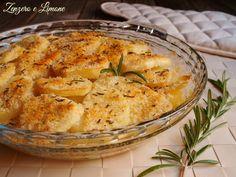 millefoglie di patate e parmigiano