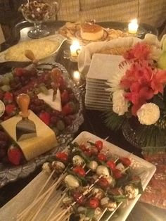 Nutcracker Sweets Party cheese table