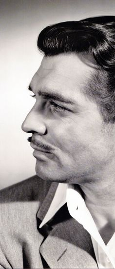 Great profile photo of Clark Gable
