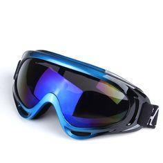 Ao ar livre UV400 Óculos de Esqui Duplo Anti-fog Grande Máscara De Esqui Snowboard Óculos Óculos de Esqui de Neve Homens Mulheres HX-X400
