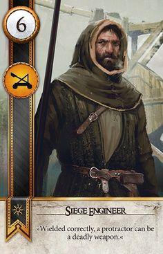 Siege Engineer (Gwent Card) - The Witcher 3: Wild Hunt