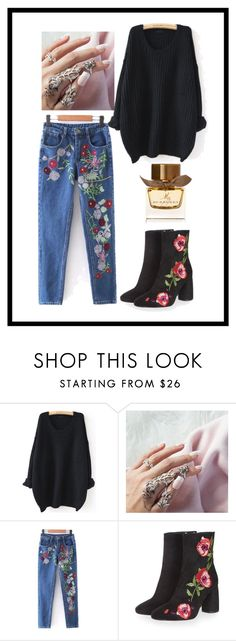 """""""Untitled #597"""" by vaniadenisse16 ❤ liked on Polyvore featuring WithChic, Topshop and Burberry"""