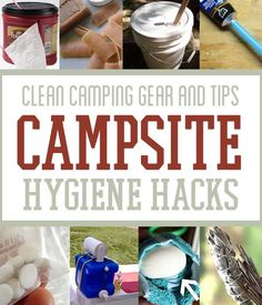 Perfect now that summer is here and we're going to start camping more. Stay clean while you're out in the wild, folks!