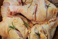 faça cortes na coxa e sobrecoxa de frango para penetrar o tempero - amor pela…