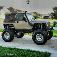 The Jeep is the most capable vehicle in the world. I have been building and wheeling my 97 TJ since...