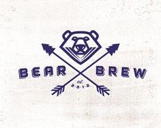 Bear Brew by Mikeymike   -   Animal Logo   -   logopond.com