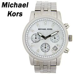 Michael Kors Silver with Mother of Pearl dial. - Check!