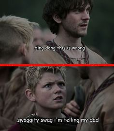 """Remember how Bjorn used to hate on Athelstan? 