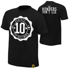 WWE Wear - The Official Shirt of the WWE Superstars Classic Fit 100% cotton Screen printed in the USA